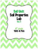 4th Grade Science Soil Properties Lab