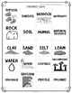 Soil Vocabulary Interactive Match Game for Comprehension