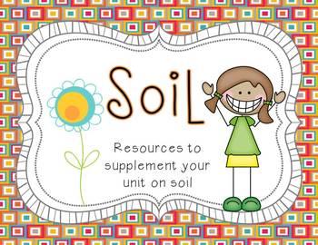 Soil Vocabulary Mat {Grades 2-3)