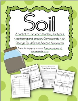 Soil, Weathering and Erosion Pack