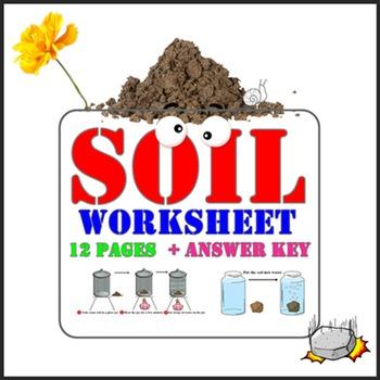 Soil Worksheets For G.1-3