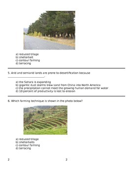 Soil and Agriculture Test