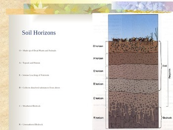 Soil and Erosion - From Bedrock to Soil