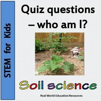 Sustainability education - soil science task cards
