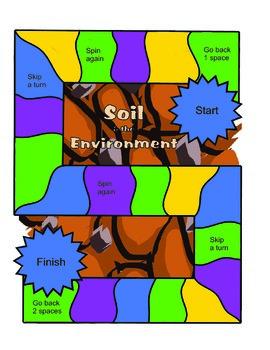 Soil & the Environment Board Game English Version