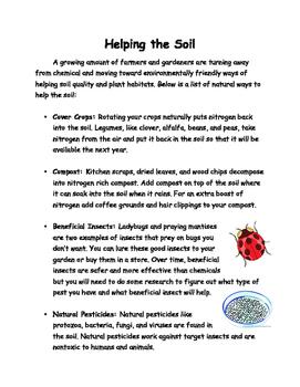 Soils Lesson 7 - Soil Additives