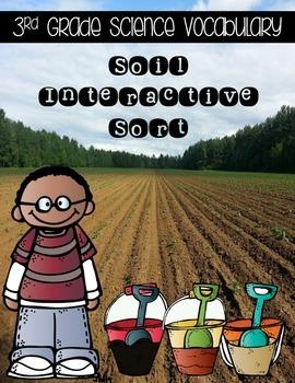Soils {Science Interactive Vocabulary Sort}