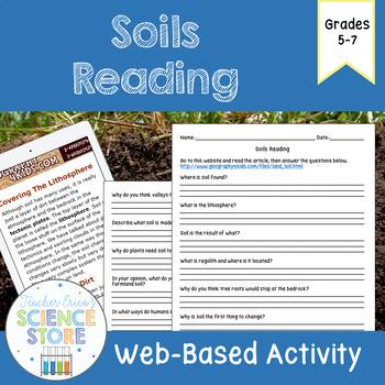 Soils Web-Quest Reading Activity