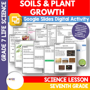 Soils and Plant Growth Lesson Plan Grade 7