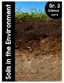 {Grade 3} Soils in the Environment