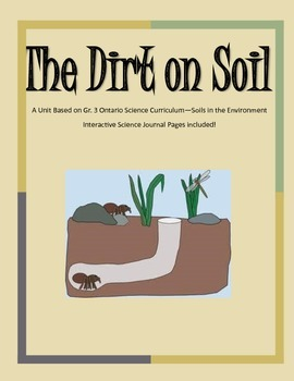 Soils in the Environment - Gr. 3 Unit with Interactive Jou