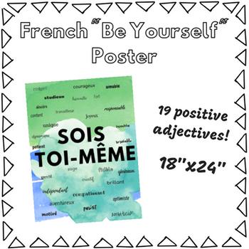 Sois Toi-Même Poster