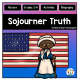 Sojourner Truth Unit: Articles, Activities, Flip Book for Women's History Month
