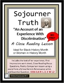 SOJOURNER TRUTH, An Account of an Experience with Discrimination