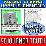 Sojourner Truth: Biography Passage and Comprehension Crossword Puzzle