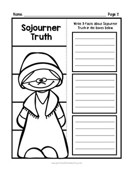 Sojourner Truth Research Organizers for Women's History Month