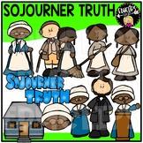 Sojourner Truth Clip Art Bundle {Educlips Clipart}