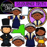 Sojourner Truth Clipart {Creative Clips Clipart}