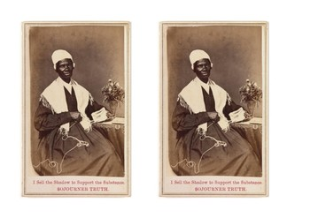 Sojourner Truth Comic Strip and Storyboard