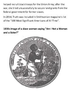 Sojourner Truth Handout