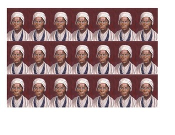 Sojourner Truth Historical Stick Figure (Mini-biography)