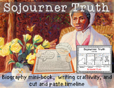 Sojourner Truth Minibook plus craftivity and writing prompts