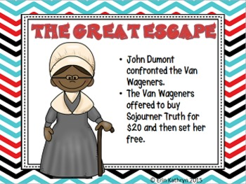 Sojourner Truth PowerPoint and Notes Set