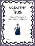 Sojourner Truth Reading Comprehension - Black & Women's History Month
