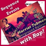 Harriet Tubman Timeline and Sequence of Events Worksheets