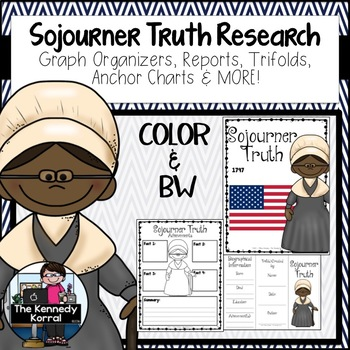 Sojourner Truth Research Report Bundle