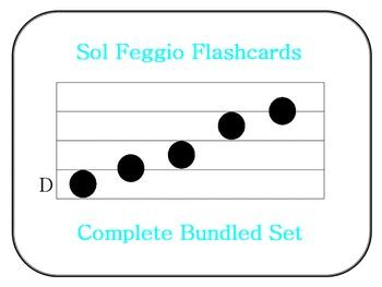 Sol Feggio Flashcards: Complete Bundled Set
