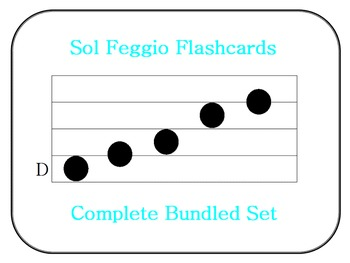 Sol Feggio Flashcards: Complete Bundled Set