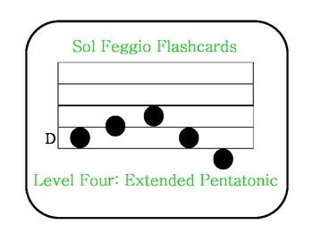 Sol Feggio Flashcards: Level 4