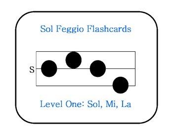 Sol Feggio Flashcards: Level 1