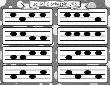 Sol Mi Clothespin Clip