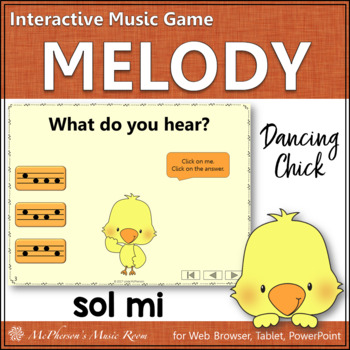 Sol Mi Interactive Music Game {Dancing Chick}