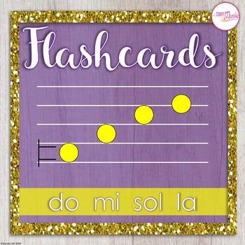 Flashcards - do-mi-sol-la