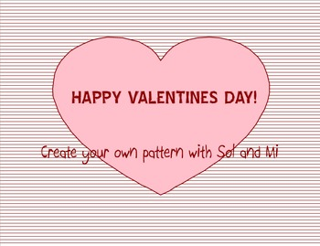 Sol-Mi Patterns (Valentines day themed)