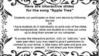 Sol-mi, interactive slides! Apple Tree.