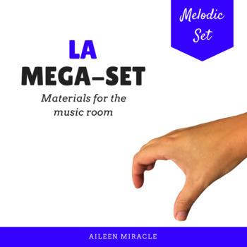 Songs, activities, and games to teach la {Bundle}
