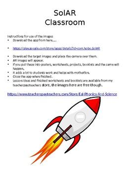 SolAR 4D School targets - free Google App