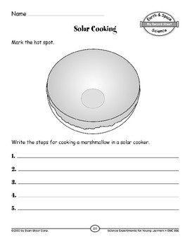 Solar Cooking (Objects in the Sky)