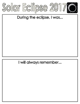 Solar Eclips Journal Page