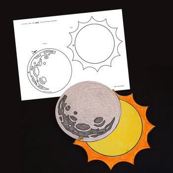 Solar Eclipse 2017 By WOWorksheets