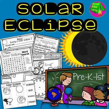 Solar Eclipse 2017 Activities Teaching Resources