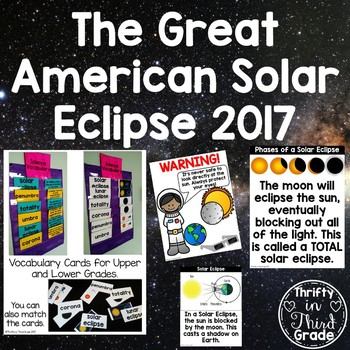 Solar Eclipse 2017 Activities