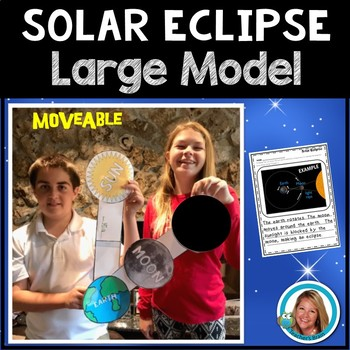 Solar Eclipse Activities LARGE Model of the Solar Eclipse & Writing Prompt