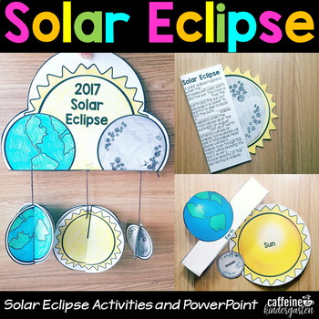 Solar Eclipse 2017 Activities Lesson Craft and PowerPoint