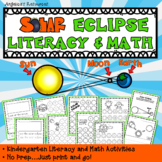 Solar Eclipse Activities : Literacy and Math
