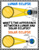 Solar Eclipse 2017 Activities for Big Kids Includes Digital Resources